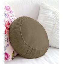 Декоративна подушка, модель 2, кругла, Медова