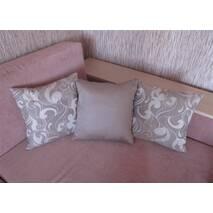 Декоративна подушка квадратна Медовий