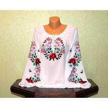 Сорочка вишита жіноча ручної роботи