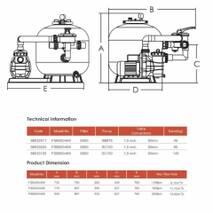 Фильтрационная система EMAUX FSB450, купить в Сумах