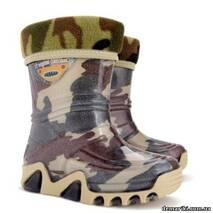 Резиновые сапоги DEMAR STORMIC LUX PRINT e (Хаки), 20-27, купить в Украине
