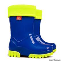Резиновые сапоги DEMAR TWISTER FLUO a (Синие), 28-35, купить в Одессе