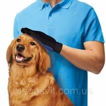 Массажная перчатка для вычесывания шерсти Тру Тач (True Touch)