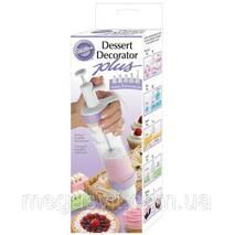 Кулинарный шприц Десерт Декоратор Плюс (кондитерский шприц)