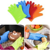 Кухонные силиконовые перчатки Antiscald Gloves