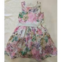 Детское нарядное платье  с фатиновым подъюбником оптом на 4-7 лет