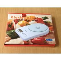 Весы кухонные электронные SCA-301, 7 кг