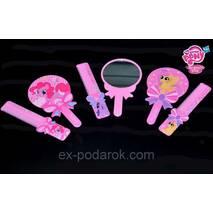 """Набор для дівчинки Дзеркало з гребінцем """"My Little Pony""""."""