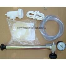 Ємність нержавіюча з плаваючою кришкою, пневматична 150 л