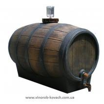"Бочка для вина пластмасова, тип ""barrique"", 30 л"