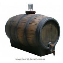 "Бочка для вина пластмасова, тип ""barrique"", 350 л"