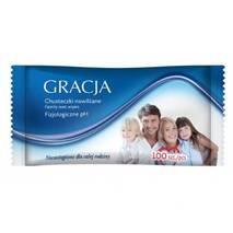 """Влажные салфетки для всей семьи """"Gracja"""", 100 шт., Польша"""