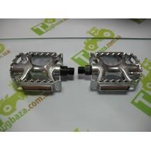 Педаль 961В2 алюминиевая цвет серебро