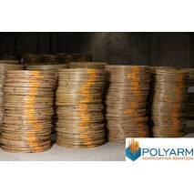 Композитная арматура Polyarm 18 мм. Стеклопластиковая неметаллическая арматура.