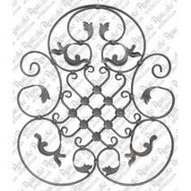Кованые розетки, барокко, орнаменты