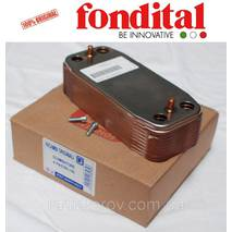 Теплообменник вторичный 14 пластин. Fondital/Nova Florida