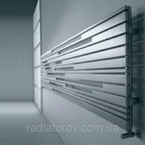 Дизайн радиатор Cordivari Inox Stradivari (Италия) горизонтальный, матовый
