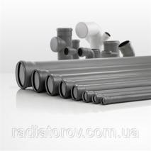 Трубы для канализации Ø 75х1500мм ППР Valsir (Италия)