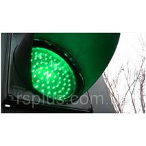 Светофорными лампа зеленая 104647