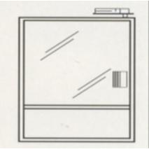 Электромеханическая замок-защелка YB-100+
