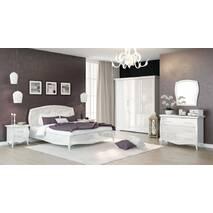 Кровать Сан Ремо 1600 Белый Глянец
