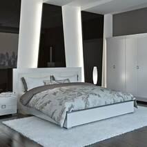 Кровать Карат 1800 White С Подъемным Механизмом
