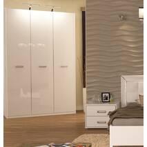 Білі шафи Белла для спальні.