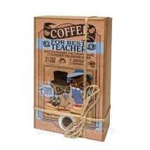Кофейный набор с шоколадом для учителя.