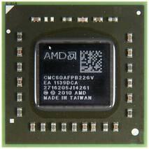 Процессор для ноутбука AMD C-60 CMC60AFPB22GV (Ontario, Dual Core, 1-1.33Ghz, 1Mb L2, TDP 9W, Radeon HD6290, Socket BGA413 (FT1))