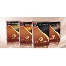 Лікувальна аюрведична фарба для волосся Chandi. Коричневий, 100г