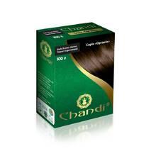 Фарба для волосся Chandi.Серія Органік. Темно-коричневий, 100г