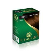 Фарба для волосся Chandi. Серія Органік. Каштановий, 100г