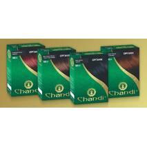 Фарба для волосся Chandi. Серія Органік. Світло-коричневий, 100г
