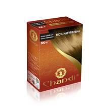 Лікувальна аюрведична фарба для волосся Chandi. Cветло- коричневий, 100г