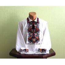 """Изысканная вышитая рубашка мужская """"Галич"""". Ручная работа"""
