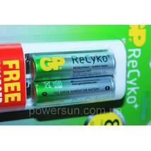 Зарядное устройство GP Power Bank  АА-ААА плюс 2 аккумулятора AA 2100мА-ч