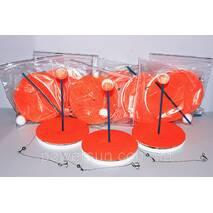 Кружок оснащенный (10 шт.) в сумке + кукан