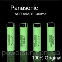 Аккумулятор Panasonic NCR 18650B 3400 mAh (лицензия)