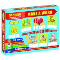 """Игра """"Scrabble. Make a word (англ.), КОРОБКА"""
