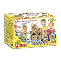 Деревянный конструктор Мельница (118 дет.)