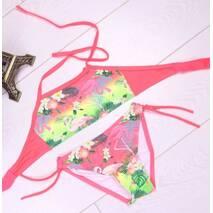 Купальник для девочки Фламинго оптом 2-7 лет