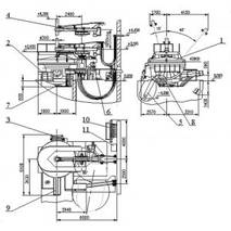 Дугова сталеплавильна піч постійного струму ДСПТ
