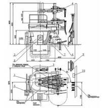 Дугова сталеплавильна піч змінного струму ДСП 1,5 купити
