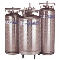 Сосуды для хранения и подачи жидкого азота серии XL (криогенные газификаторы)
