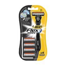 """Бритвенный станок со сменными кассетами BIC """"Flex 3 Hybrid"""" 4 шт. купить в Херсоне"""