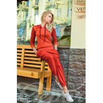 Красный спортивный костюм из дайвинга (красный)