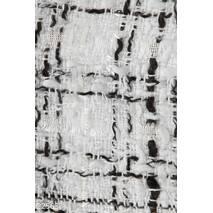 Женский жакет букле (бело- черный)