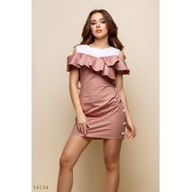 Женское платье Кикиморы бежевый