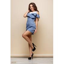 Женское платье Кикиморы голубой