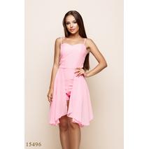 Женский комбинезон 15496 розовый